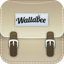 App Icon WallaBee, the great digital collectibles game for iPhone, gets a massive update