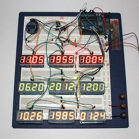 Back to the Future: Build your own DeLorean time clock