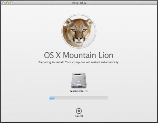 Installing Mountain LIon 520x404 TNW Review: OS X 10.8 Mountain Lion