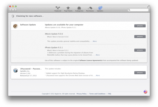Mac App Store Updates 520x354 TNW Review: OS X 10.8 Mountain Lion