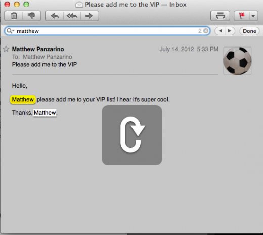 Mail Inline search 21 520x465 TNW Review: OS X 10.8 Mountain Lion