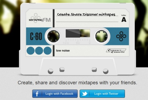 a18 520x354 Mixtaping.FM does a good job of reimagining the mix tape for the digital generation