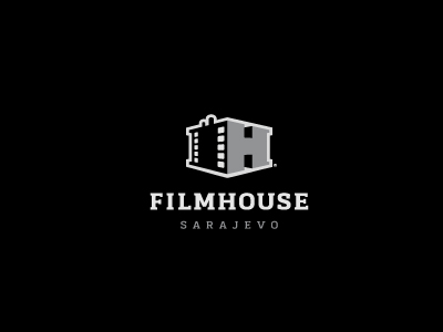 filmhouse sarajevo logo   by muamer adilovic 01 21 Gorgeous film logos and icons for your design inspiration