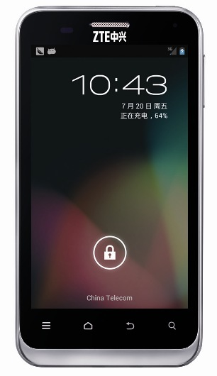 n880e ZTE introduces Chinas first Jelly Bean powered Android smartphone, the N880E