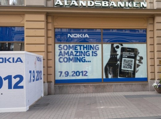 nokia store 520x387 Nokia hints at a September 7th surprise