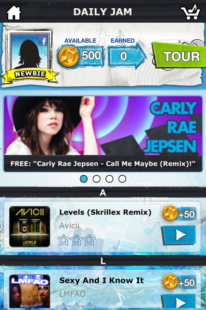 photo 22 Tap Tap Revenge comes roaring back with brilliant new revamped version called Tour