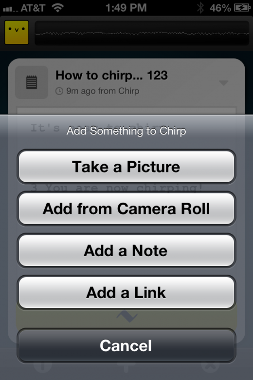 photo 31 520x780 Chirp sings pictures and notes from one iPhone to another