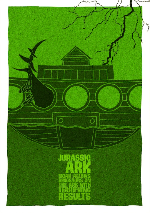 Jurassic Ark: These Posters show what happens if you remove a letter from your favorite movies