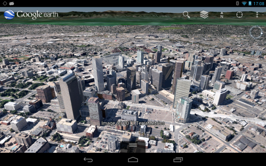 Downtown Denver 520x325 Google Earth gets 3D imagery in Denver and Seattle, on both iOS and Android