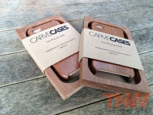 IMG 3817wtmk 520x390 TNW Review: The Carve Case offers handmade, lightweight wooden protection for your iPhone