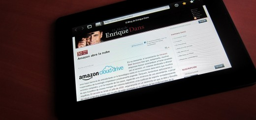 RIM PlayBook tablet by Enrique Dans