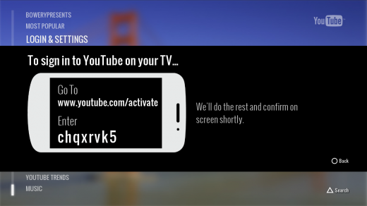 YTPS32 520x292 Google rolls out native YouTube app for PlayStation 3, US only for now