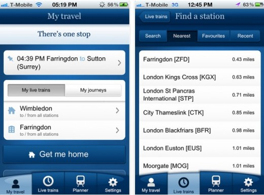 a11 National Rail Enquiries announces one million app downloads, three months after its UK launch