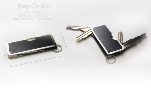 cardcaddy 520x304 Awesome: Kickstarter Keylet brings your key and wallet together (and its already funded)
