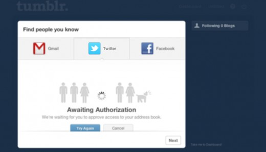 Tumblr becomes next property after Instagram to have Twitter friend finding privileges revoked