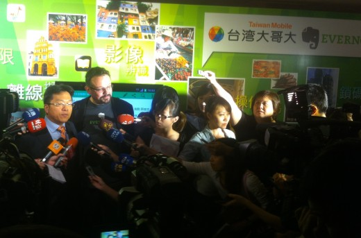 Evernote signs deal with Taiwan Mobile, opens an office in Taiwan
