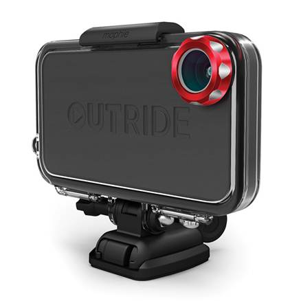 image001 Mophies Outride mounts your iPhone on your bike, surfboard and more