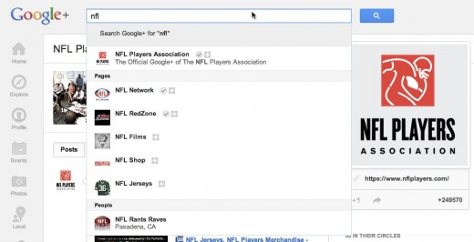 nflplayersassociation 520x266 Hangouts breaks out of Google+, will power NFL.com fantasy football experience