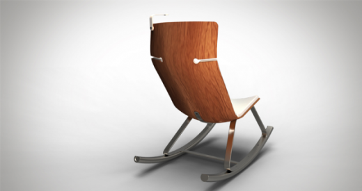 otarky chair PR2 520x275 This stylish rocking chair uses your movement to charge your gadgets