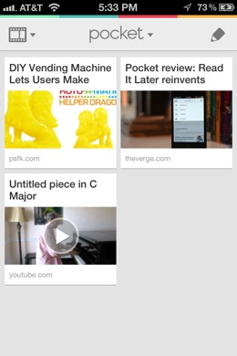 pocketVideos Deep Dive into Pocket, the beautiful save it for later service