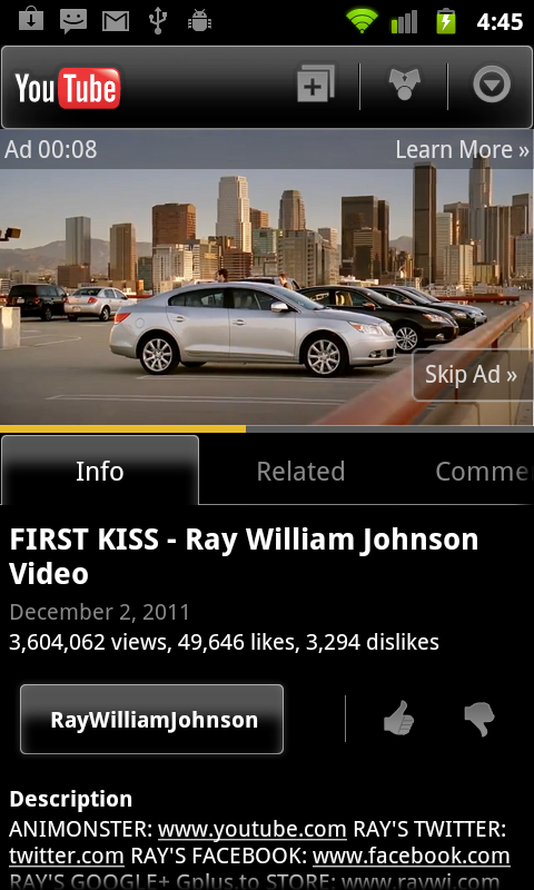 skippable ad portrait screenshot 2 Googles new mobile YouTube ads are exactly why it wants a standalone iOS app