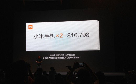 xiaomi2 520x323 Xiaomi, Chinas Apple challenger, unveils hotly anticipated Mi2 quad core powered smartphone