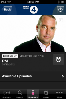 111 220x330 The BBCs new iOS iPlayer Radio app is available now, heres our full hands on review