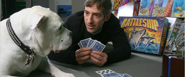 Mark Pincus and his dog Zinga