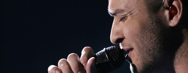 Singer Justin Timberlake performs during