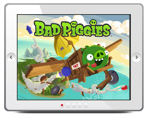 Games Rovio Entertainment Ltd 131400 Rovio: Bad Piggies reached #1 in the US iTunes App Store a mere 3 hours after launch