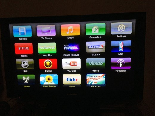 IMG 0319 520x390 Apple TV home screen gets Election 2012 Presidential Debate icon in form of tweaked WSJ Live app
