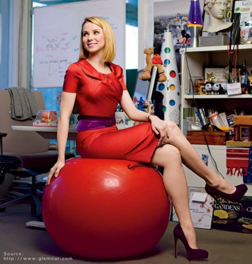 Marissa Mayer The GROUND 02 520x546 Can you be sexy and have a startup?