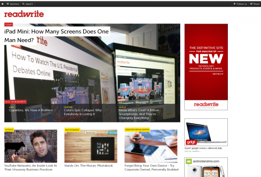 RW 520x353 ReadWriteWeb relaunches as ReadWrite, and nabs Fake Steve Jobs as Editor in Chief