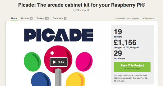 Screen Shot 2012 10 31 at 08.19.48 520x274 Kickstarter launches in the UK with hundreds of new projects ready for funding