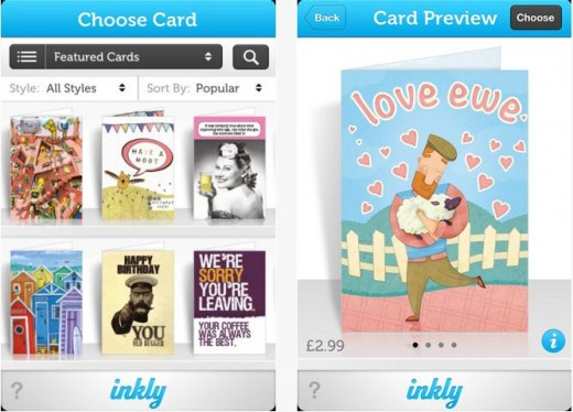 a13 520x374 TNW Pick of the Day: Inkly lets you buy and send handwritten greetings cards directly from your iPhone