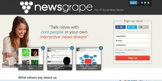 a6 520x260 Newsgrape blends Reddit and Google News style features for the ultimate social news stream
