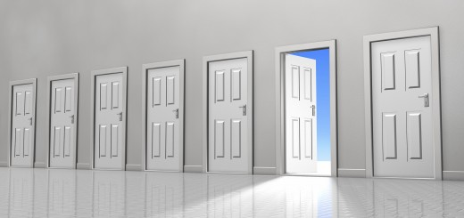choosing an exit door via thinkstock