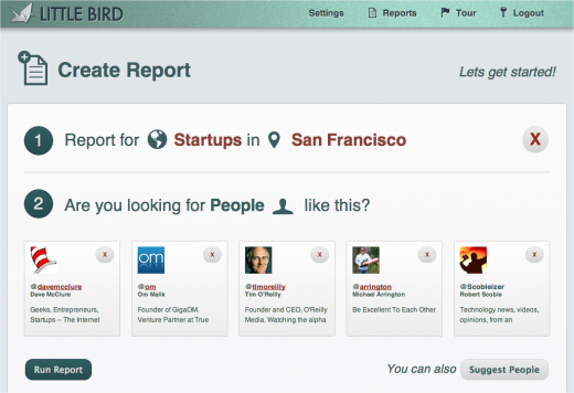 littlebird screen03 520x356 Rebranded Plexus Engine raises $1 million as Little Bird from Mark Cuban and others
