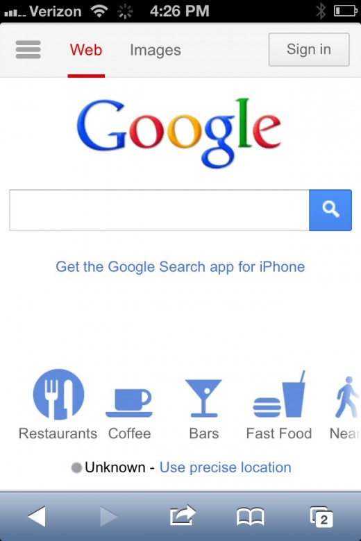 photo 11 520x780 Google updates its mobile homepage to improve navigation, discovery
