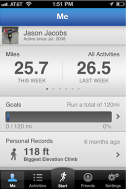 runkeeper2 Runkeeper updates its iPhone app, adding Facebook integration, leaderboards and more