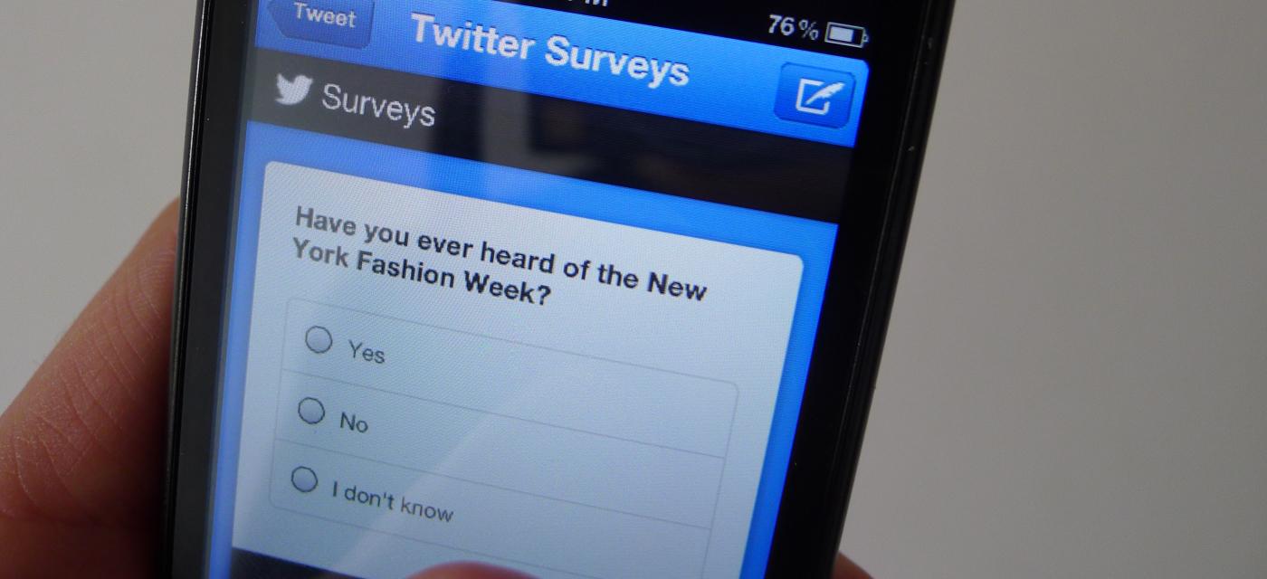 twitter survey content marketing plan