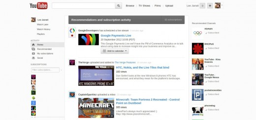 youtube redesign feat