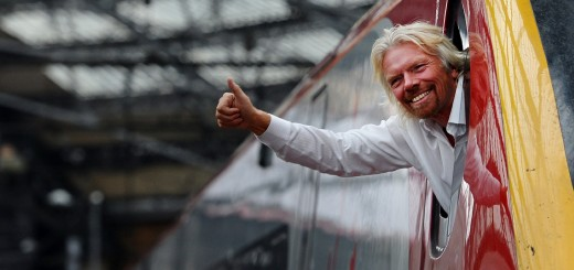 British entrepreneur Sir Richard Branson