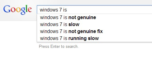 2012 11 18 11h09 43 Google doesnt appear to think much of Windows 8, and Bing isnt nicer