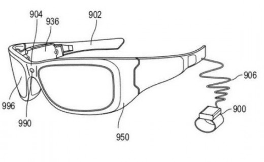 2012 11 23 15h36 12 520x319 Microsofts augmented reality patent could square it off against Googles Glass project