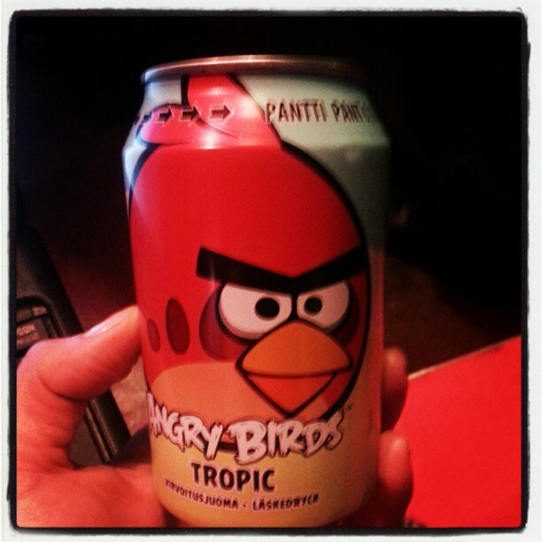 Rovio: Angry Birds soda is the best selling drink in Finland – Ahead of Coke and Pepsi