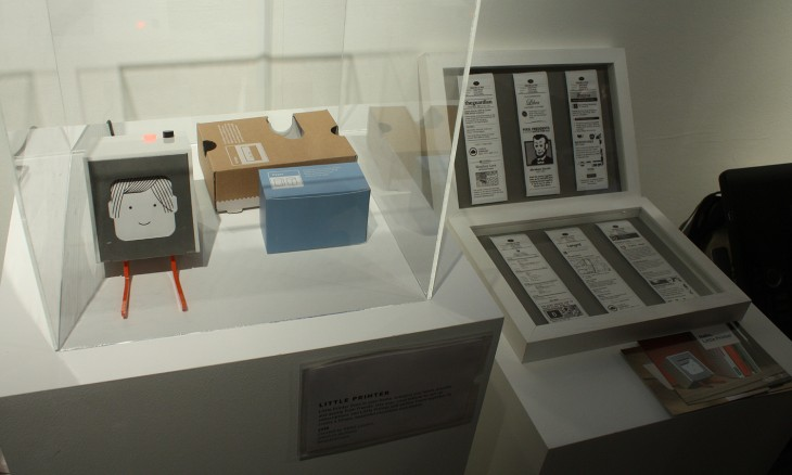 Berg mini printer 730x438 Wireds pop up shop opens in London and is packed with geeks like kids in a candy store