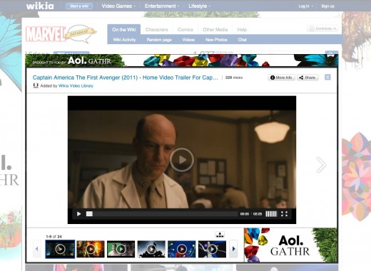 Gathr lightbox 520x381 Wikipedias for profit cousin Wikia unveils its new Lightbox video player and a slew of syndication deals