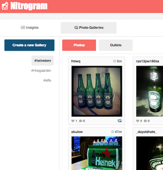 NG Galleries heineken Can Instagram analytics be a business? Teleportd lands $1m to give it a shot with Nitrogram