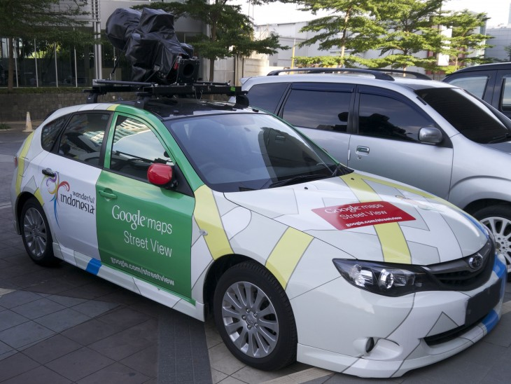 SV Sedan 730x548 Street View is coming to Indonesia, as Google partners with the countrys tourism ministry